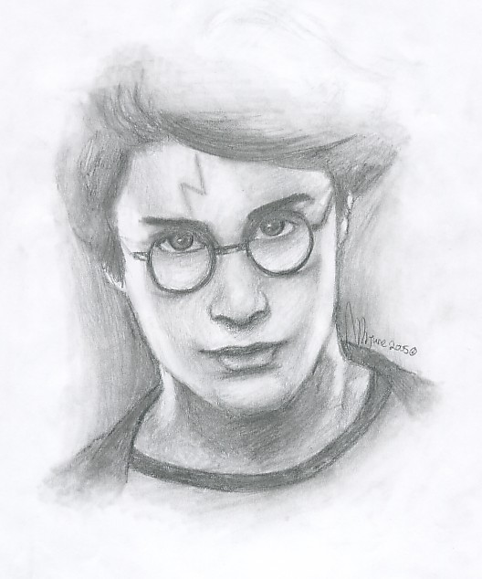 Harry Potter by miriamartist