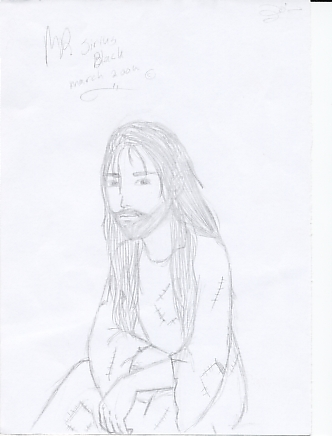 Sirius Black by miriamartist