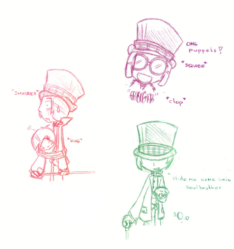 Wonka doodles by miss_san