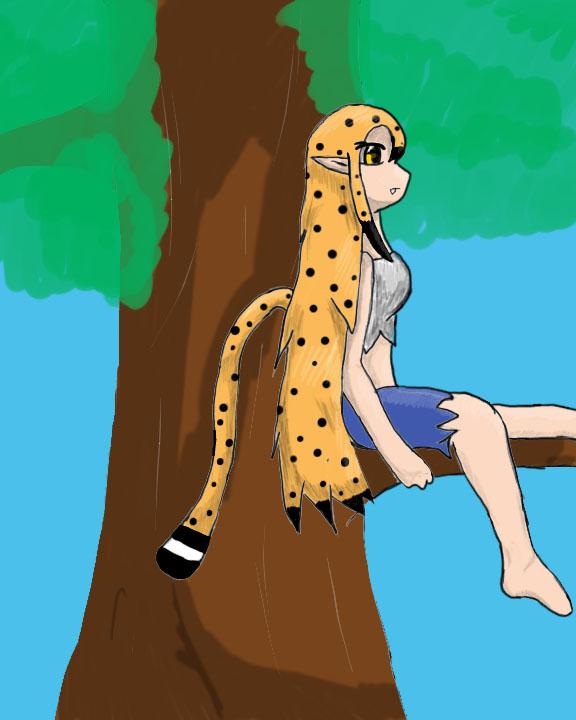 Cat in a Tree by misty6