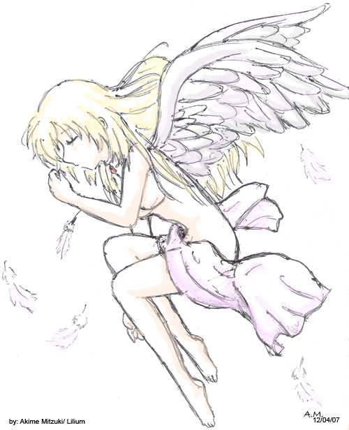 Sleeping Angel by mitzuki