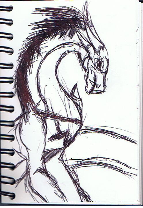 mean dragon by model123