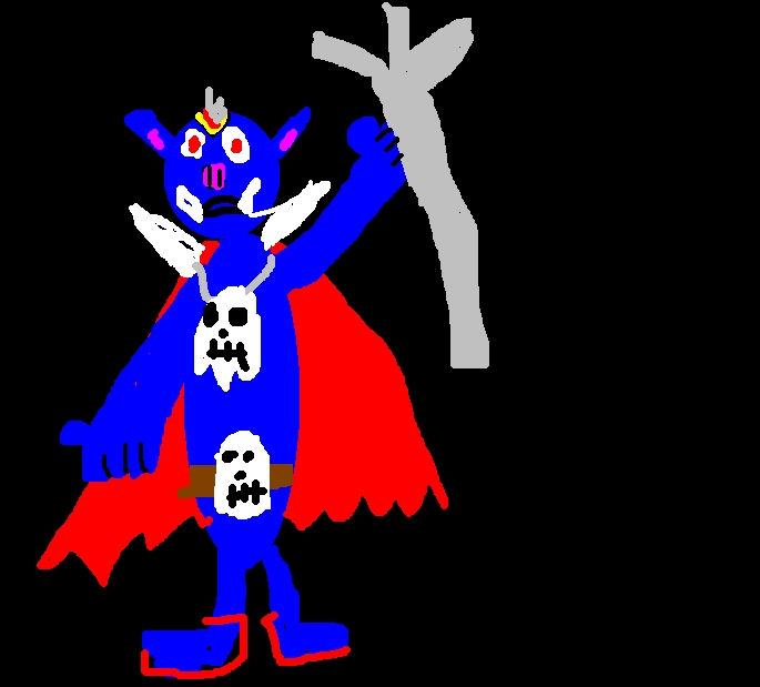 The Dark Wizard by montypythonfan87