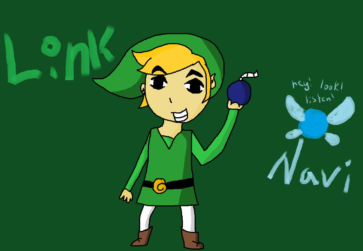 Link and Navi by morganland