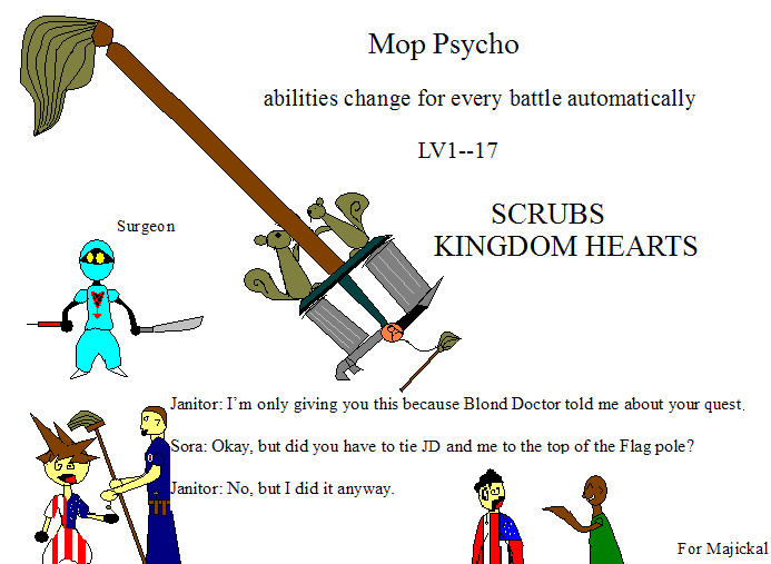 Mop Psycho by mrfipp