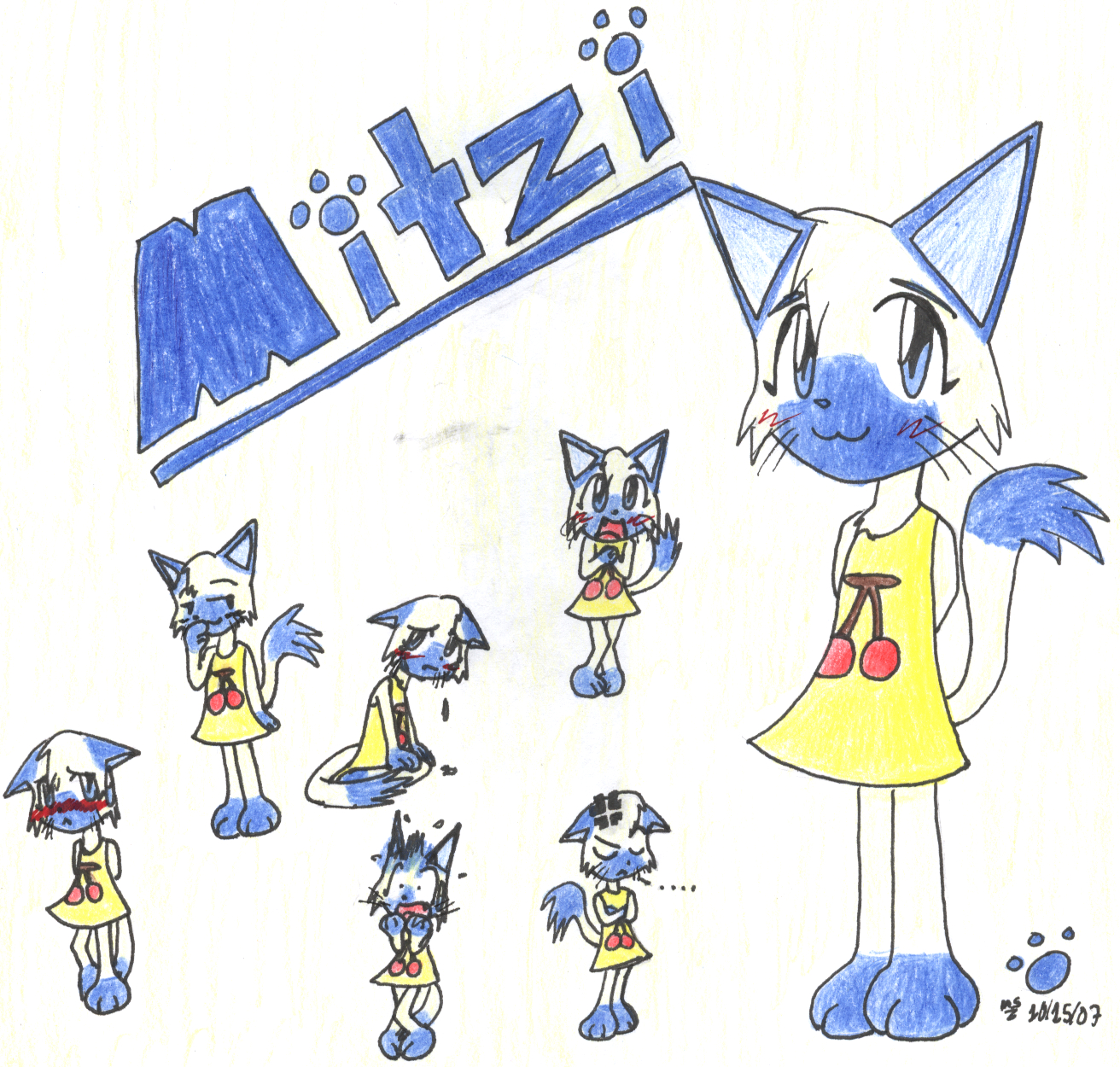 Mitzi Doodles by mrsaturn123