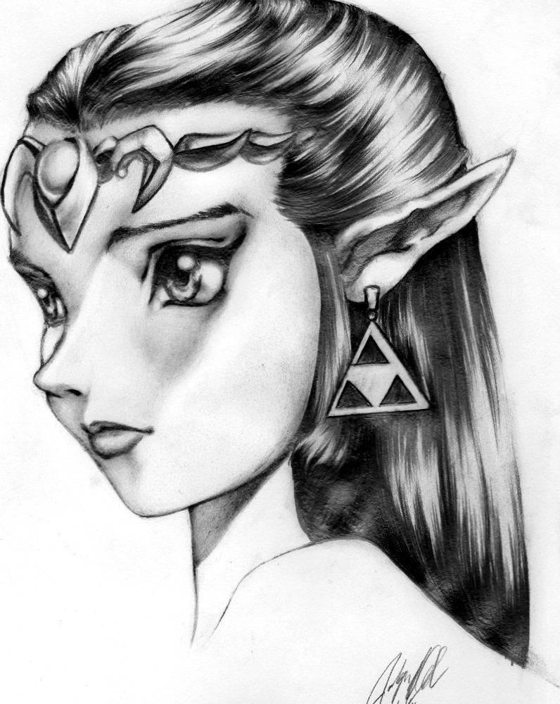 Zelda Bust by museforsale