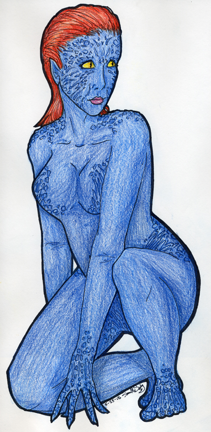 Mystique by mwar