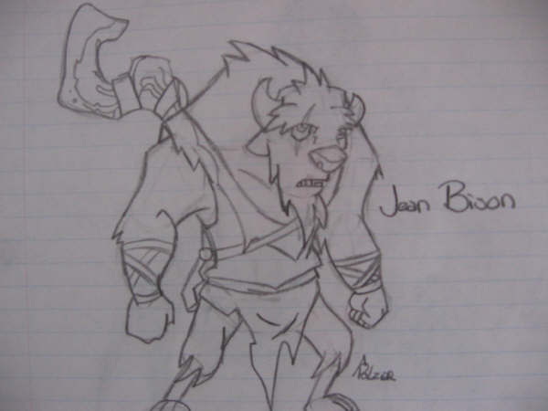 Jean Bison by mystic_rat_theif