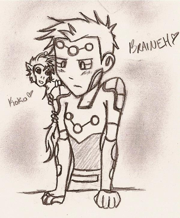Brainy&Koko by mystic_rat_theif