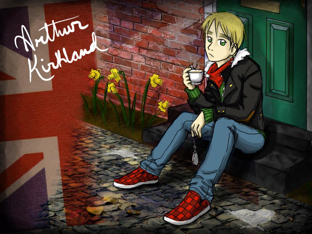 Arthur Kirkland - England by mystic_rat_theif