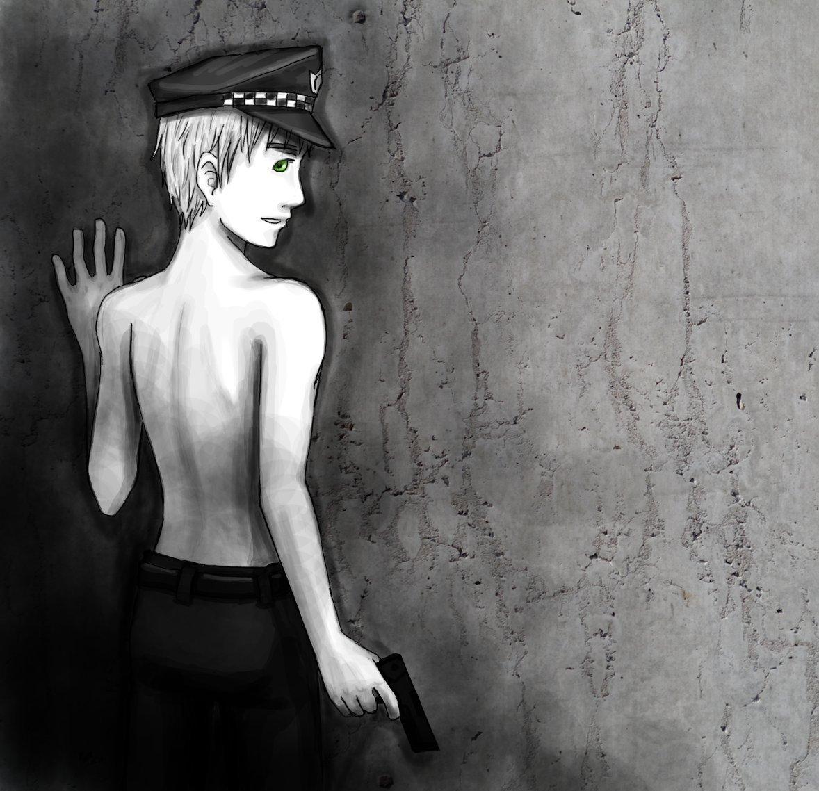 Officer Kirkland by mystic_rat_theif