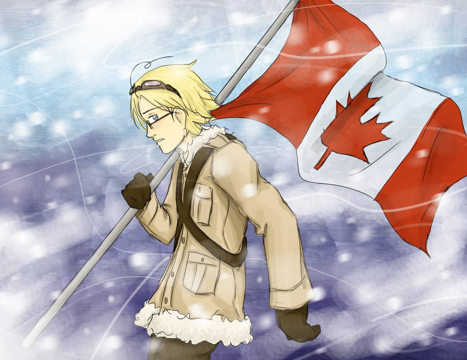 APH - True North Strong and Free by mystic_rat_theif