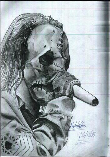 Corey Taylor by N1CKEL50N