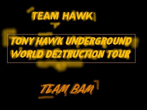 TonyHawkUnderGround 2 team hawk team bam by NASCARgirl24