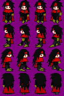 Vincent of thy game sprite by NIX
