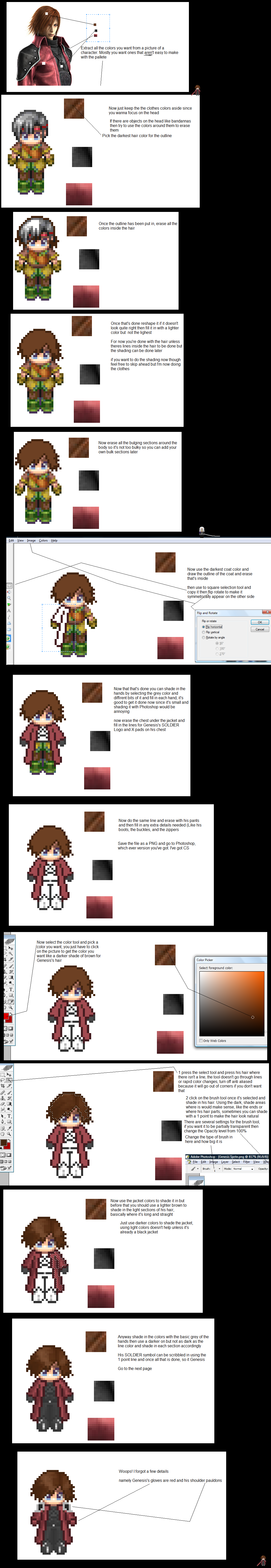 My Sprite Tutorial by NIX