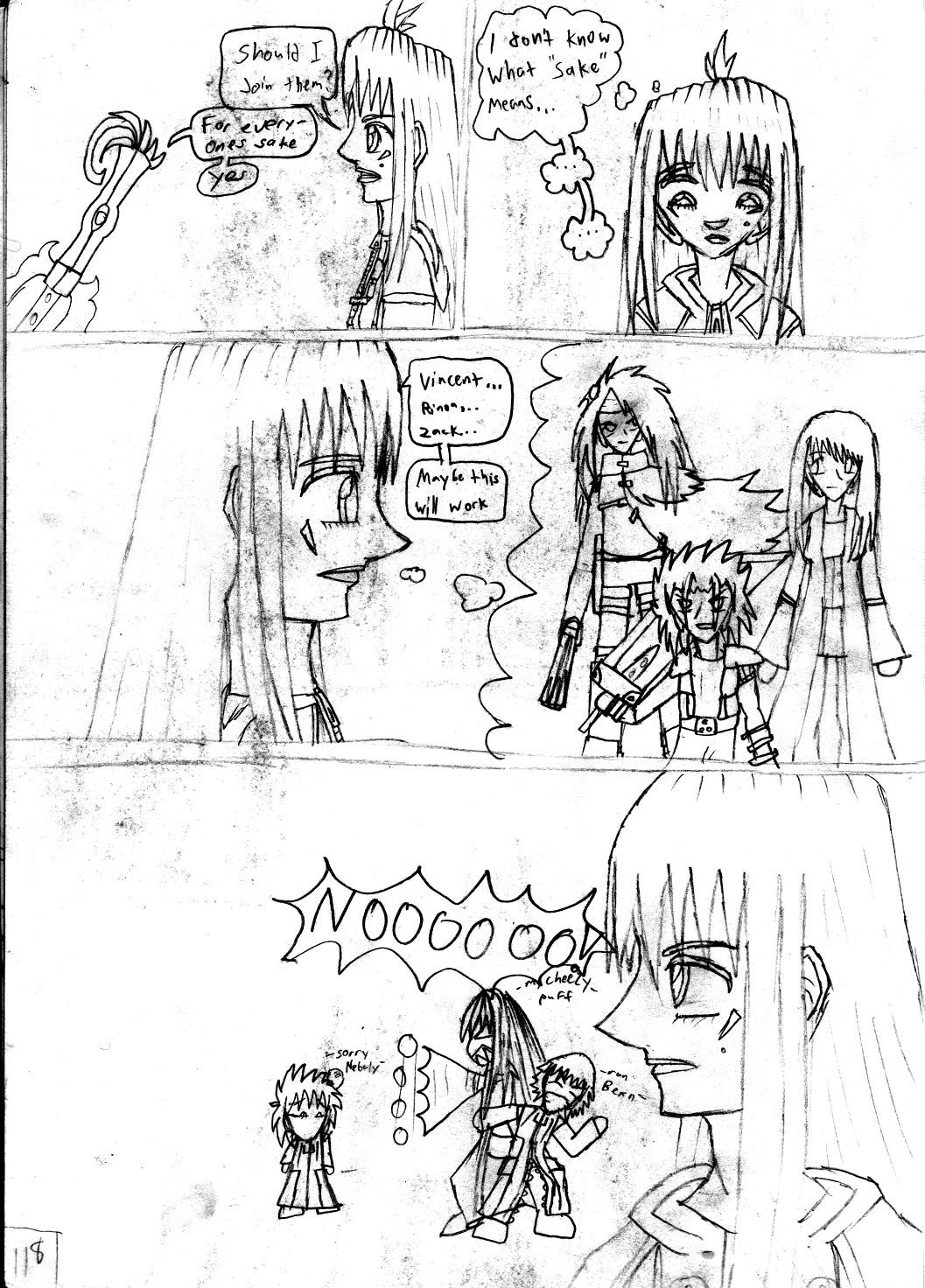 Kingdom Hearts Destined Waltz Page 118 by NIX