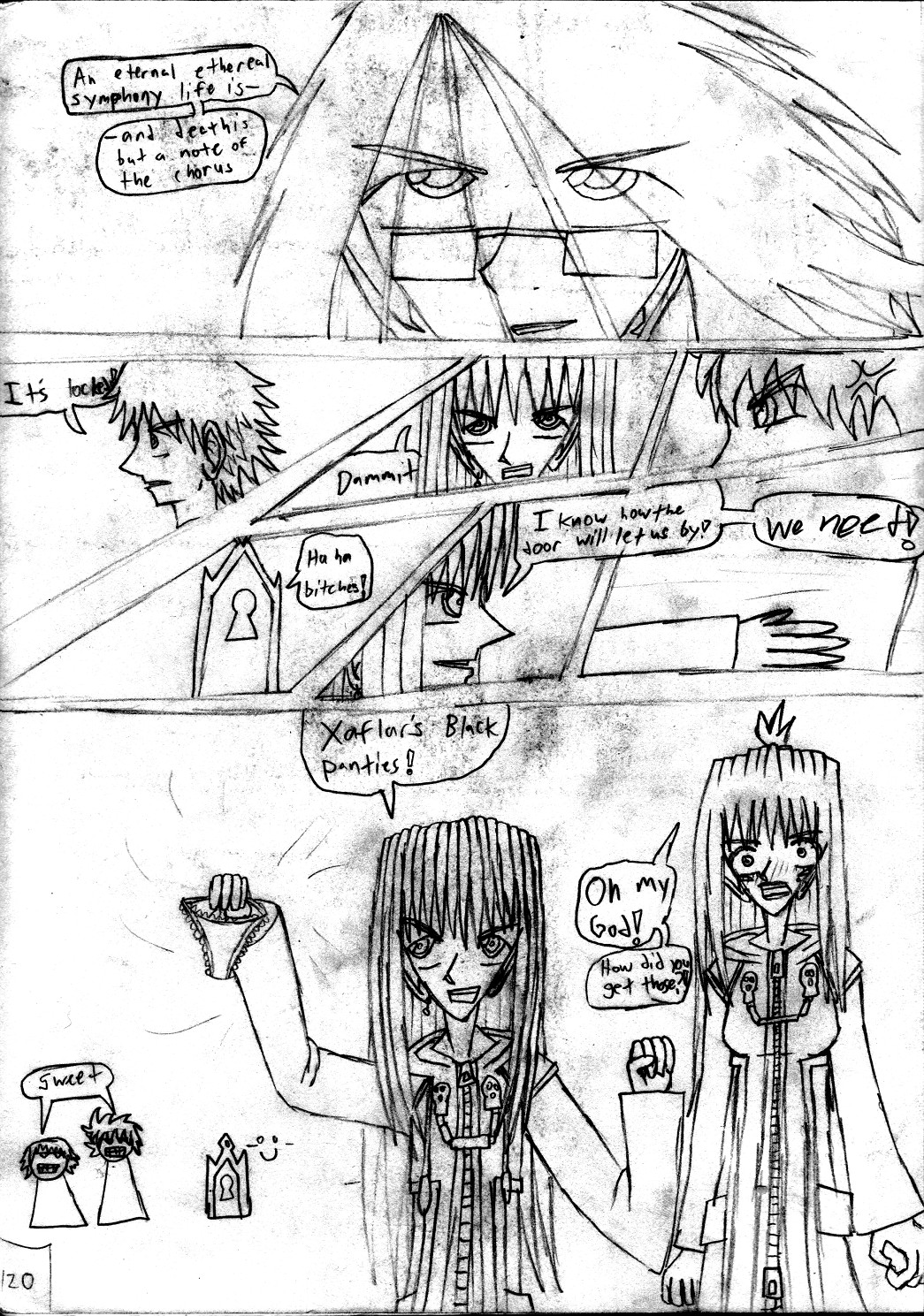 Kingdom Hearts Destined Waltz Page 120 by NIX