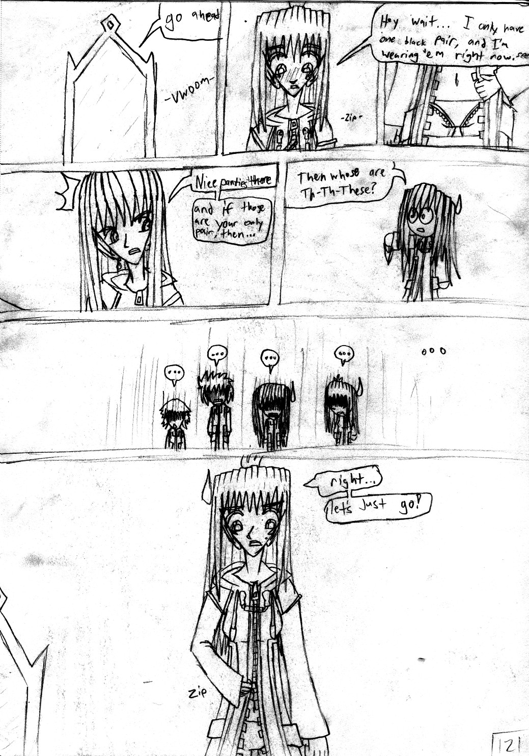 Kingdom Hearts Destined Waltz Page 121 by NIX