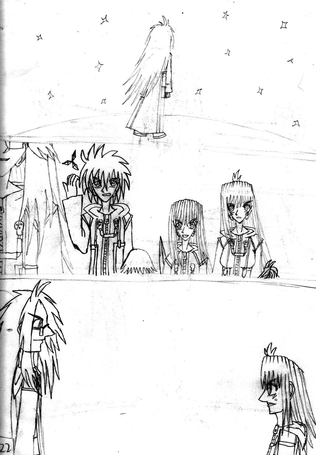 Kingdom Hearts Destined Waltz Page 122 by NIX