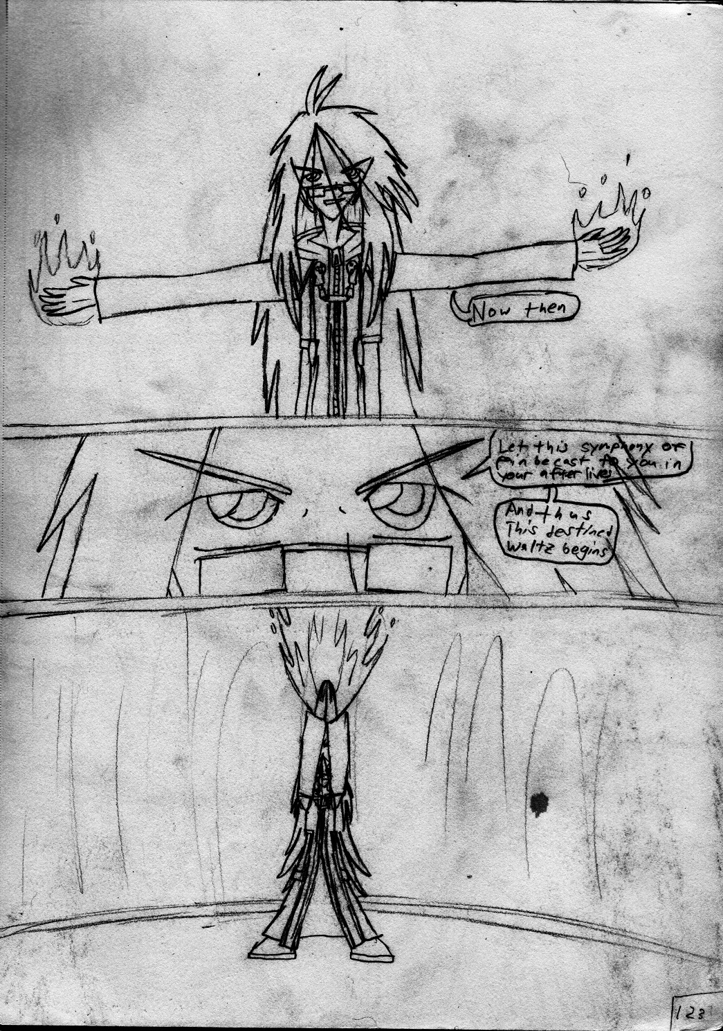 Kingdom Hearts Destined Waltz Page 123 by NIX