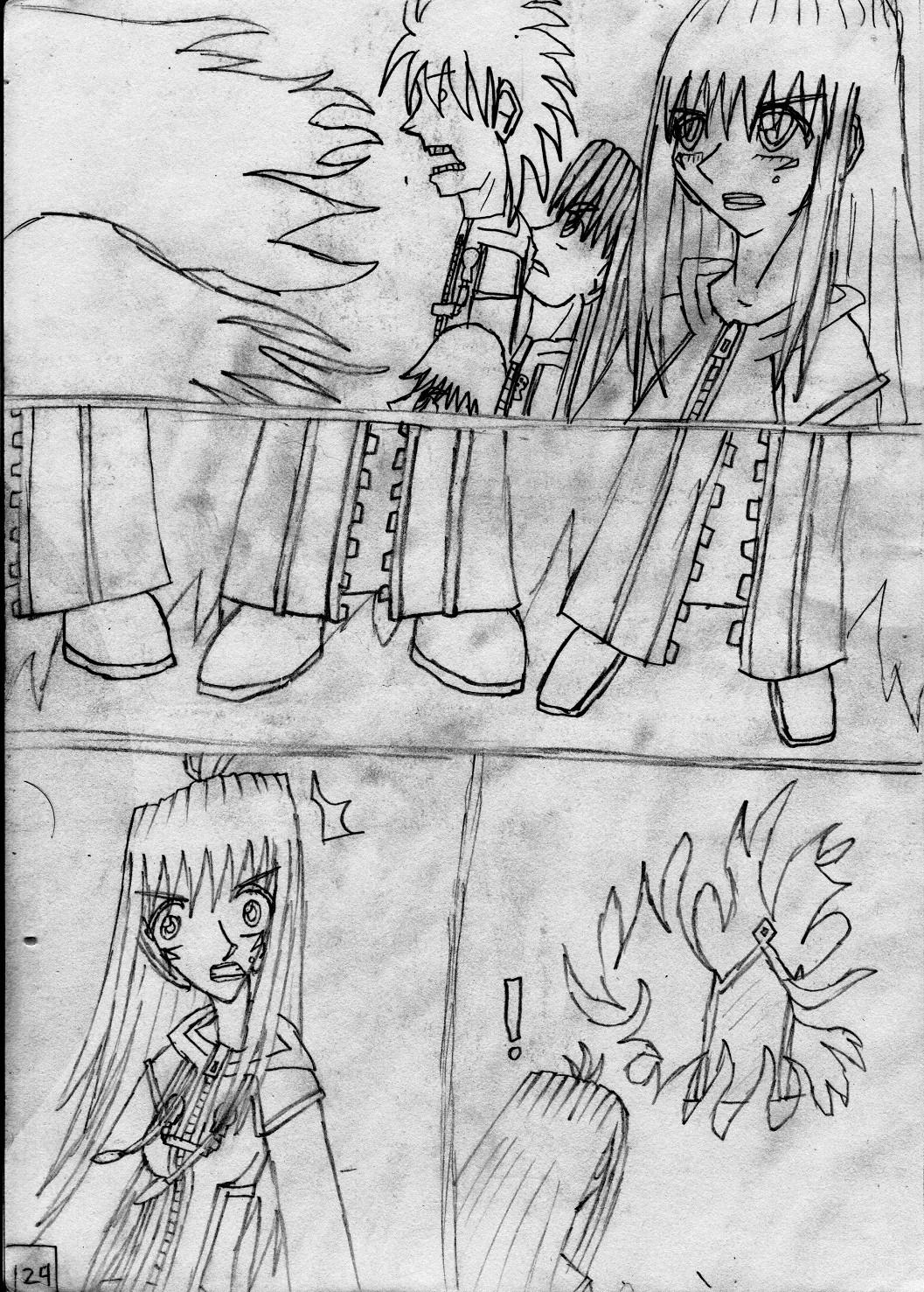 Kingdom Hearts Destined Waltz Page 124 by NIX