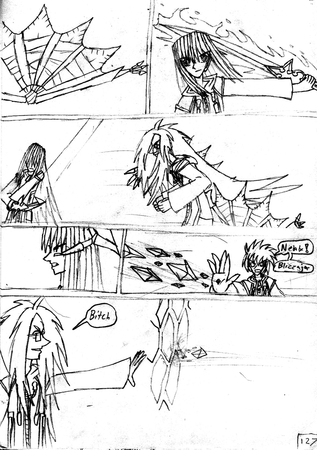 Kingdom Hearts Destined Waltz Page 127 by NIX