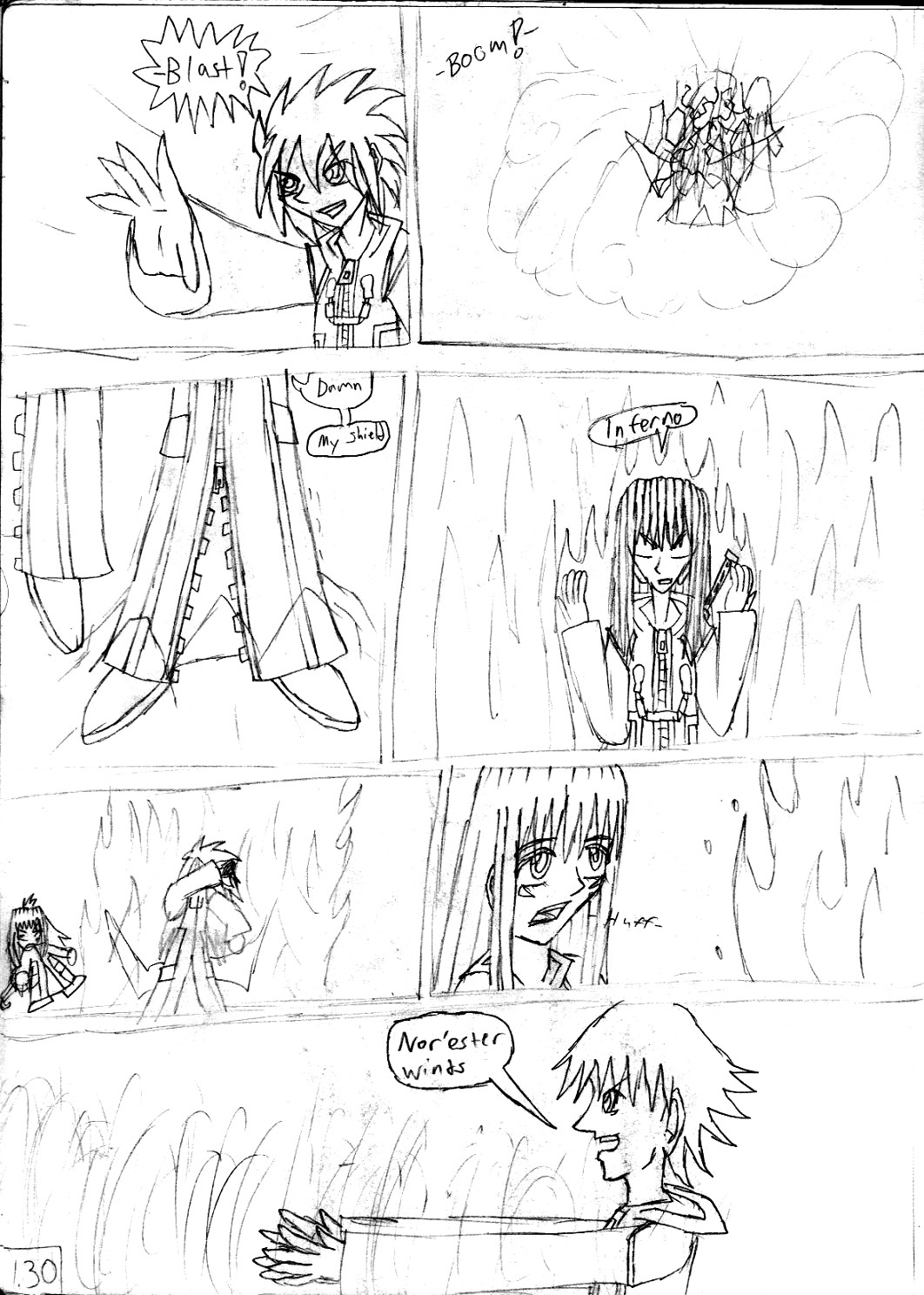 Kingdom Hearts Destined Waltz Page 130 by NIX