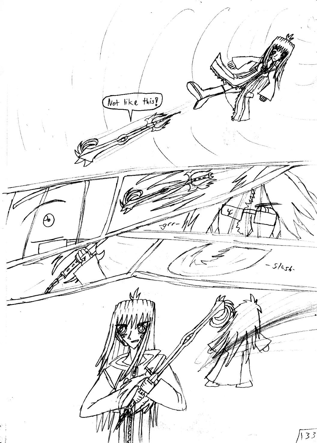 Kingdom Hearts Destined Waltz Page 133 by NIX