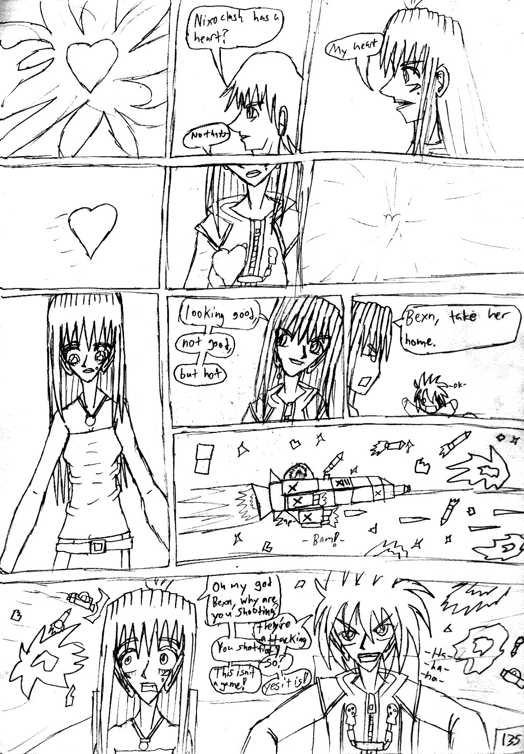 Kingdom Hearts Destined Waltz Page 135 by NIX