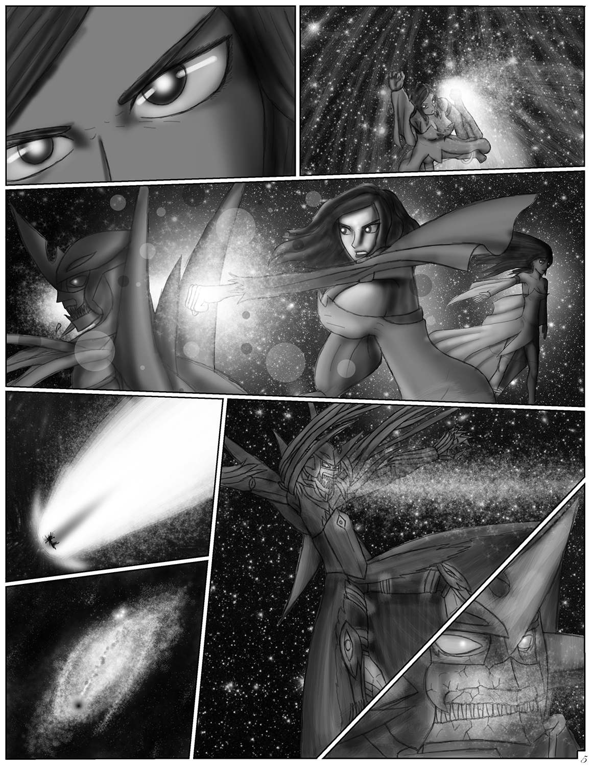 Cacophony Comic - Page 5 by NIX