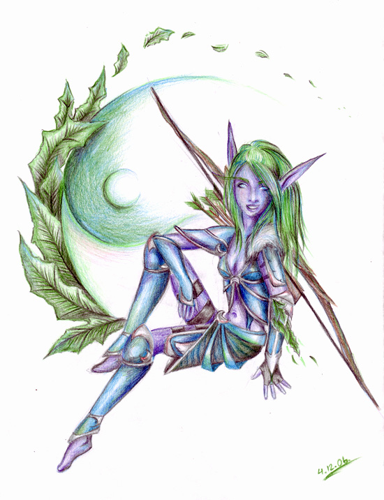 Green elf by NaNaNa