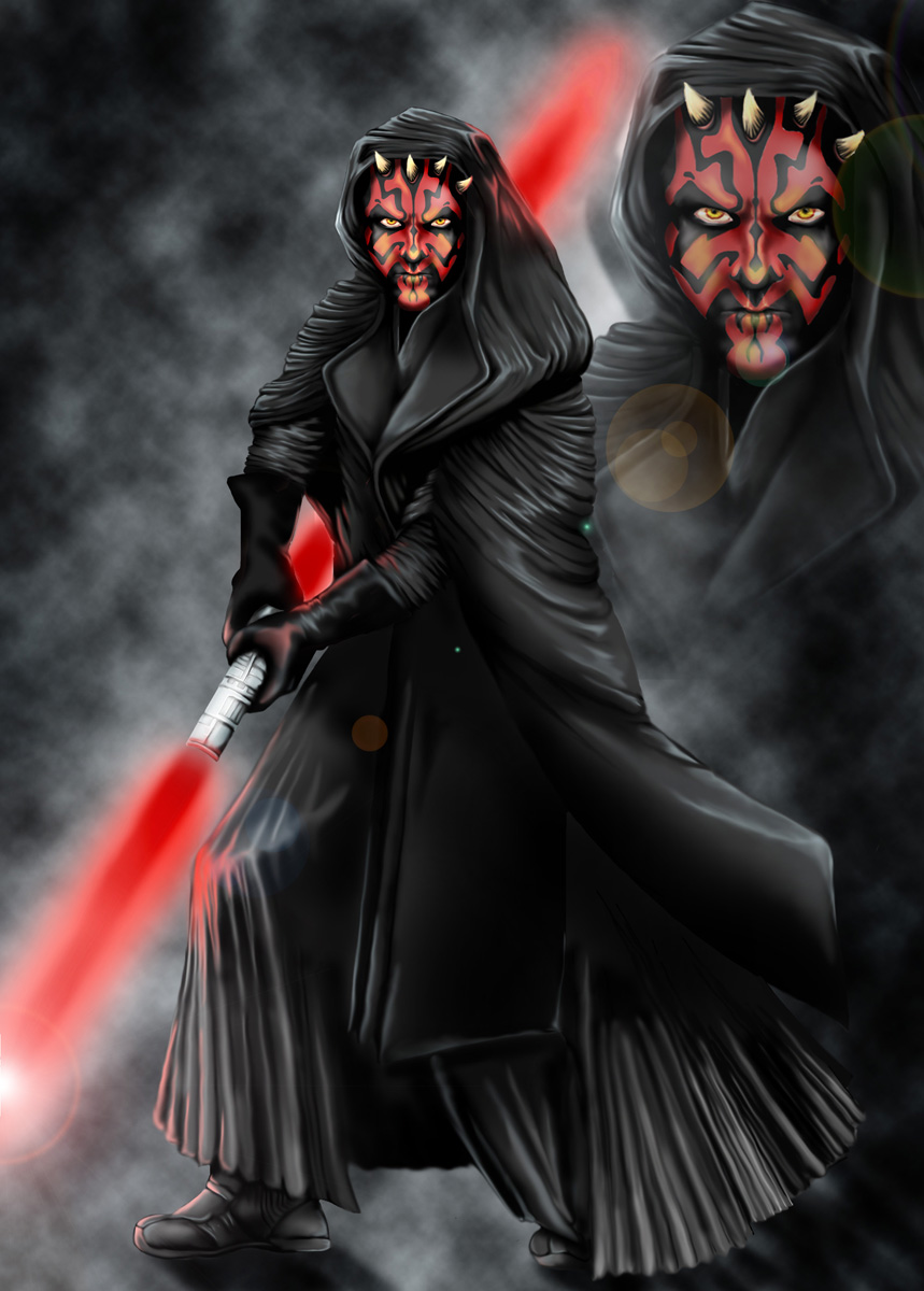 Darth Maul by NaNaNa