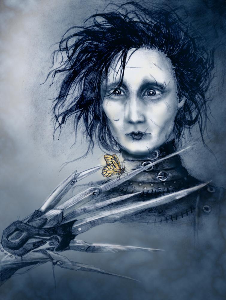 Edward Scissorhands by NaNaNa