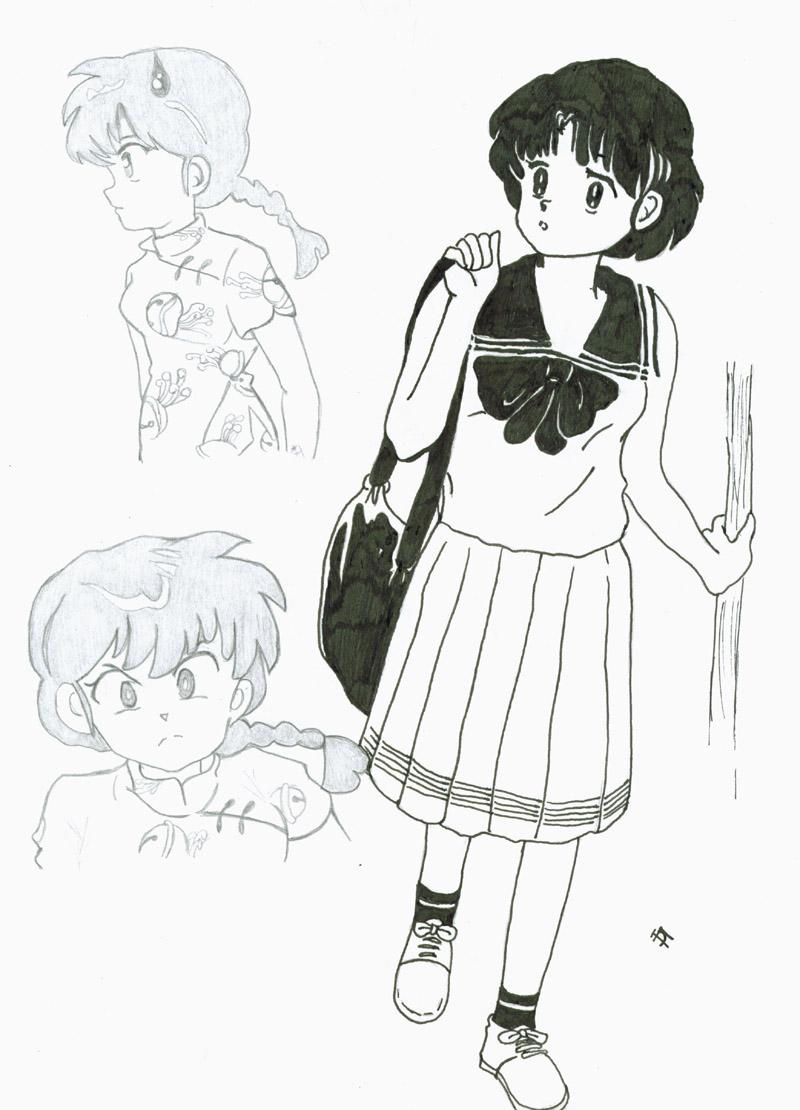 Ranma and Akane by Nakeno_Shido