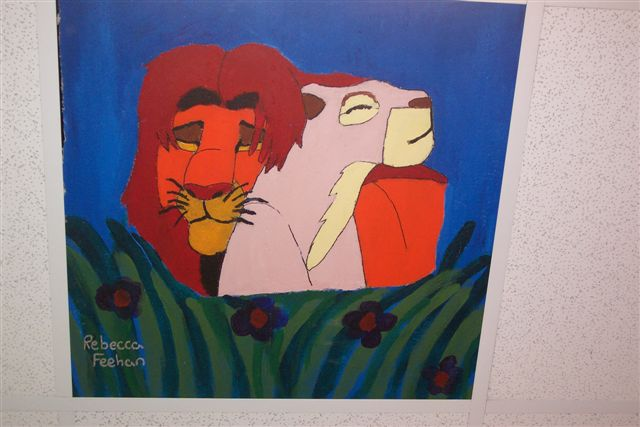 Can You Feel The Love Tonight-- Ceiling Tile by Nalagirl