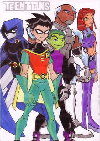 Teen Titans Group 99