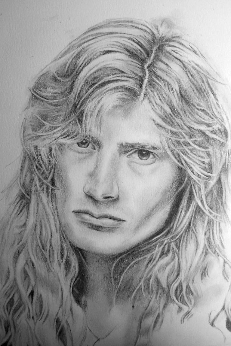 Dave Mustaine by Narmeret