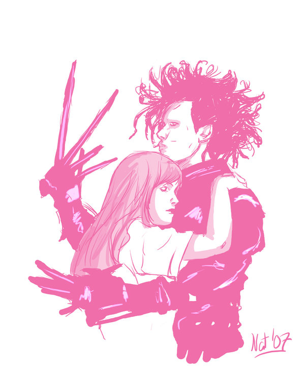 Edward Scissorhands by NatNiikura