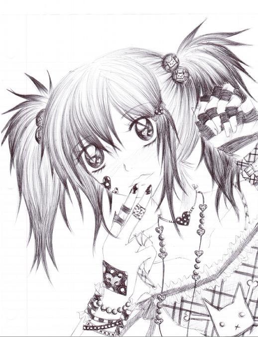 girl in love by Neji-lover