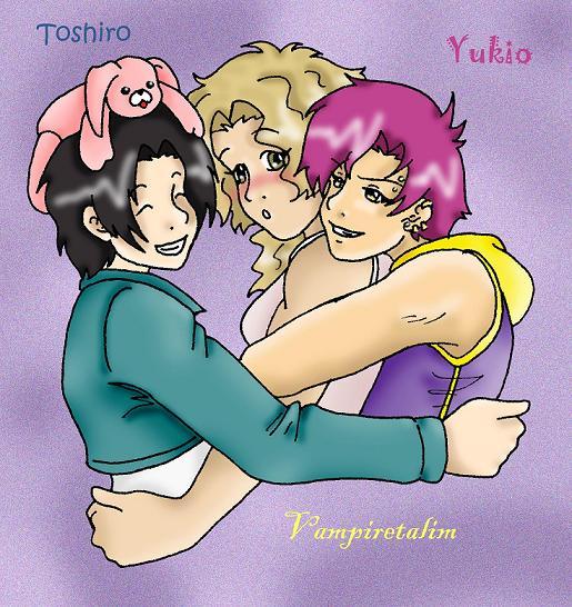 Vampiretalim, Yukio and Toshiro! by NekoHellAngel