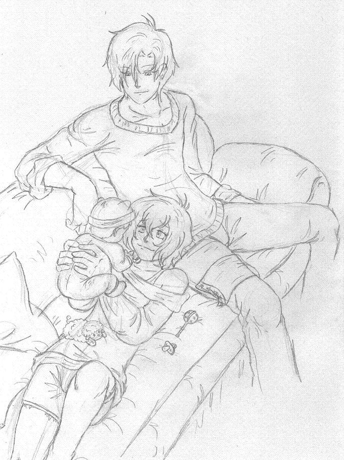 Babysitting Uncles by NekoHellAngel