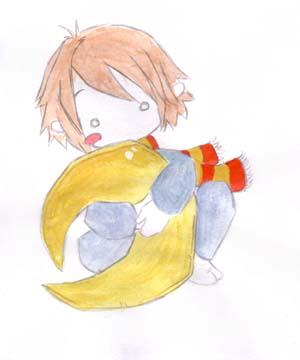 Baby Lupin by NelleNinja