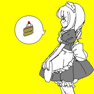 Cake by NelleNinja