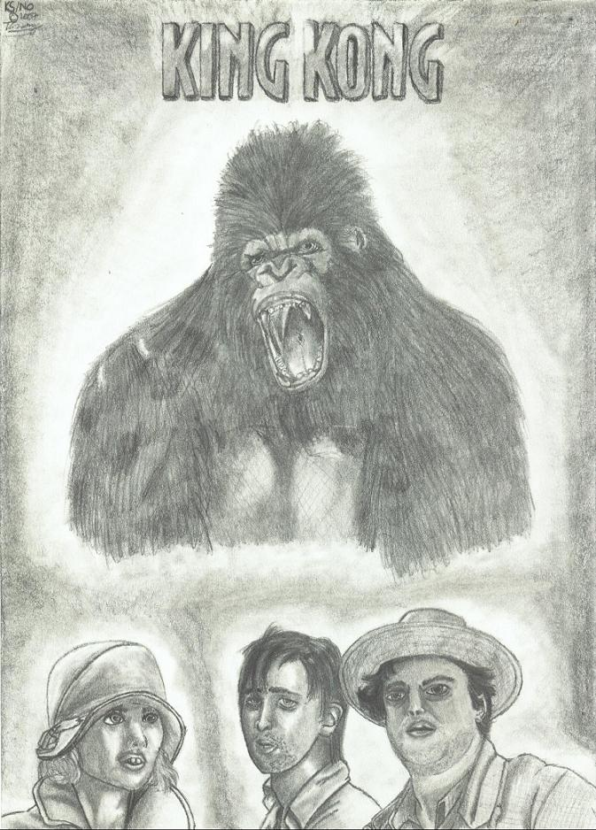 Kong Movie Poster Thing (FINISHED! =D) by NemesisOblivion
