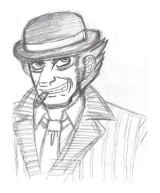 Mulciber -sketch- by NemesisOblivion