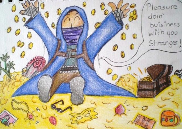 Merchant Doodle by Nemmer