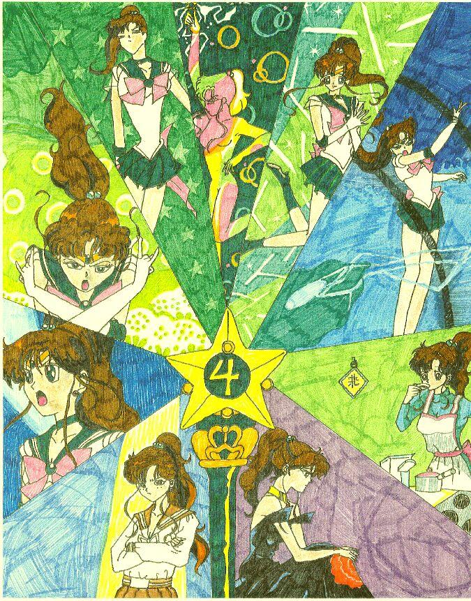 Sailor senshi Collage Series (part 2) by NeoCelestialStar