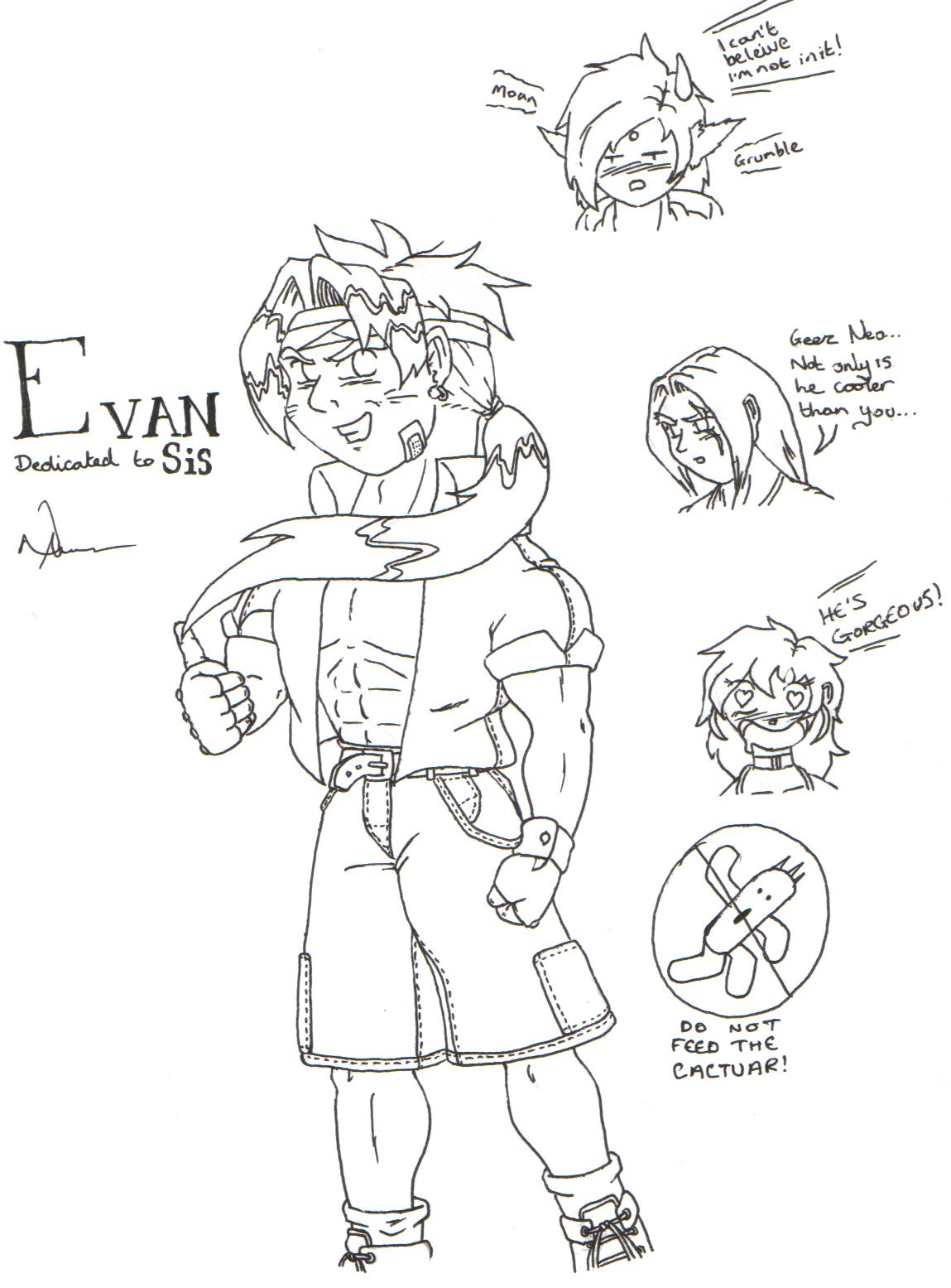 Evan for Sis (better late than never) by Neo_Masaki